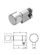 Knauf-Halbzylinder Iseo F5