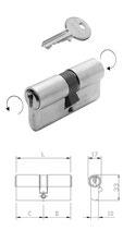 Profilzylinder Iseo F5 mit Not- und Gefahrenfunktion