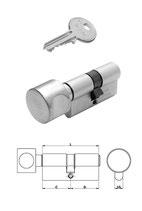 Wendeschlüssel-Knaufzylinder Iseo R6