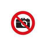 ADESIVO SEGNALETICA INTERNA NO FOTO CM. 10X10 - 020