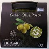 Purée d'olives vertes à l'ail et au thym