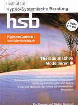 Ausbildung Therapeutisches Modellieren Teil III (2016), 4 DVDs, ca. 817 min Spielzeit