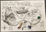 """""""Die Insel der Liebe"""", Paartherapeutische Landkarte (deutsch)"""
