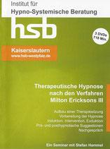 Ausbildung Therapeutische Hypnose nach dem Verfahren Milton Erickson TEIL III, 3 DVDs               ca. 718 min. Spielzeit