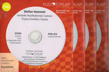 Ausbildung Therapeutisches Modellieren; 4 DVDs, ca. 800 Min. Spielzeit
