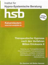 Ausbildung Therapeutische Hypnose nach dem Verfahren Milton Erickson TEIL II, 3 DVDs               ca. 676 min. Spielzeit