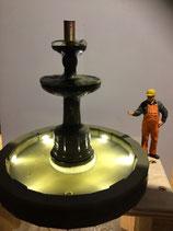 Brunnen Tegel, Funktionsmodell incl. Beleuchtung Art. 510542