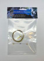Ersatzteil: Rundscheibenleuchte Nichia LED compl., Art. 510528LED