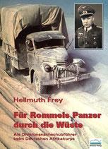 Für Rommels Panzer  durch die Wüste