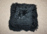 Nordal Denmark, Kissen, Lamb fur Cushion, Black