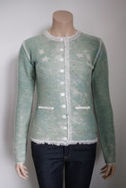 Strickjacke, Janker, Grace, mint, bestickt