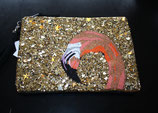 Essentiel Antwerp, Nophelia large sequined pouch