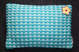Imbarro Kissen Cushion Mandy turquoise, 50x35