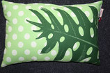 Imbarro Kissen Cushion Dot green, 60x40