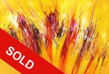 Yellow Red Abstraction XL 1 / SOLD