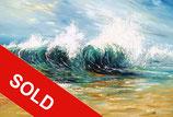 Seascape Breaking Waves XL 2 / SOLD