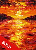 Romantic Evening Sailing M 1 / SOLD