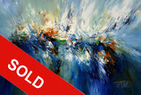 Symphony In Blue XL 1   / SOLD