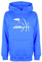 Hoody Royal mit BBZ Opladen Jumpman Logo und Wunschnamen