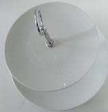 présentoir à gâteau en porcelaine