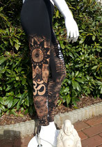 "Woman Leggings ""Om & more"""