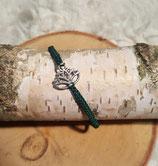 """Armband Lotusblüte """"Silber"""""""
