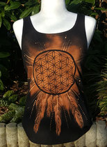 "Traumfänger Top ""Flower of Life"""