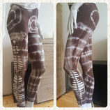 "Woman Leggings "" Grey Bleach"""