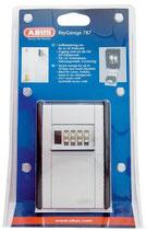 Schlüsselsafe ABUS wandmontage grau-schwarz, zahlenschloss