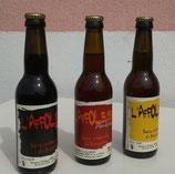 L'AFFOLEUSE : Bière artisanale du Beaujolais. Bouteille de 33cl