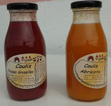 Coulis de fruits artisanal