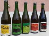 L'AFFOLEUSE : Bière artisanale du Beaujolais. Bouteille de 75cl.
