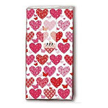 "Wedding Hanky ""Hearts"""