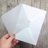 transparentes Kuvert