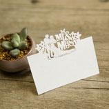 "#A Lasercut Platzkarte ""Mr&Mrs"""