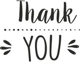 "Stempel ""Thank You"""