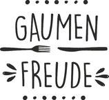 "Stempel ""Gaumen Freude"""