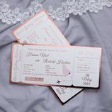 """Flug-Ticket""-Karte"
