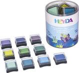 """Mini-Stempelkissen Set """"Aqua"""""""
