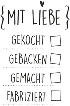 """Stempel """"Mit Liebe..."""""""