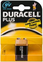 6LR61 MN1604 9V Block Duracell Batterie