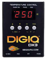 BBQ GURU DIGIQ® DX3 MONOLITH CERAMIC SET