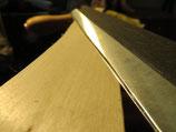 Kirschen CARBONSTAHL Zugmesser gerade 250mm