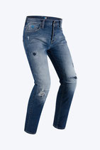 Jeans moto PMJ - Promo Jeans STREET Blu