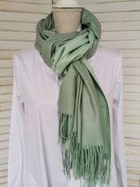 Schal lindgrün/olive