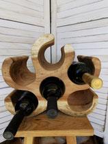 Weinständer Holz