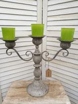 Kerzenständer 3-armig Klein Vintage