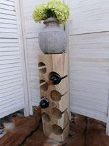 Weinständer 6 Flaschen Holz