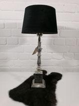 Tischleuchte 56 cm schwarz
