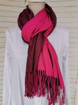 Schal pink/schamotte